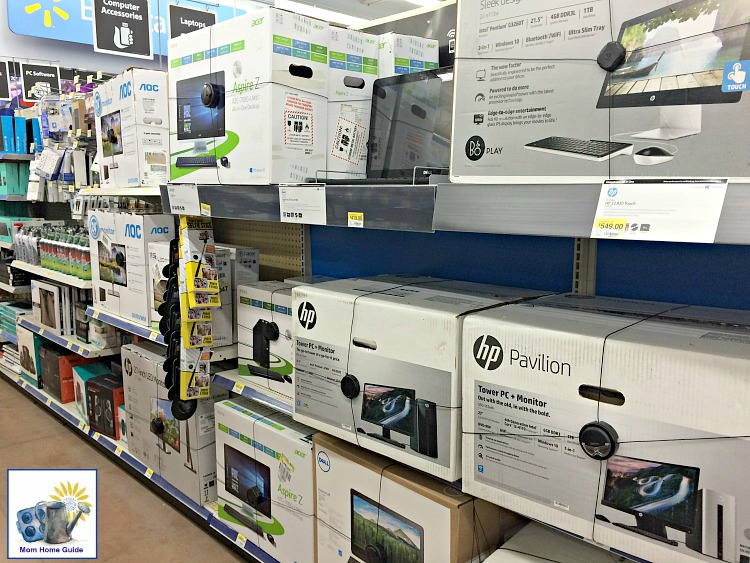 HP computers at Walmart