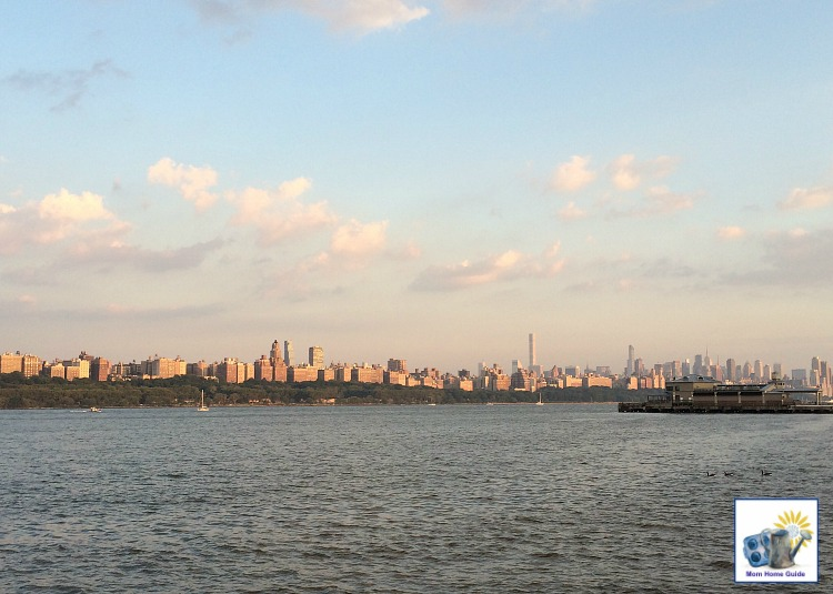 New York City skyline from Edgewater, NJ