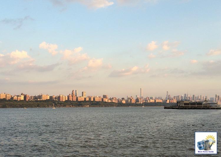 New York City skyline from Edgewater, NJ