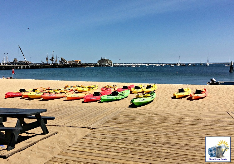 Kayaks in Provincetown, Mass.