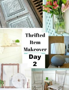 Thrifted Item Makeover {Day 2}