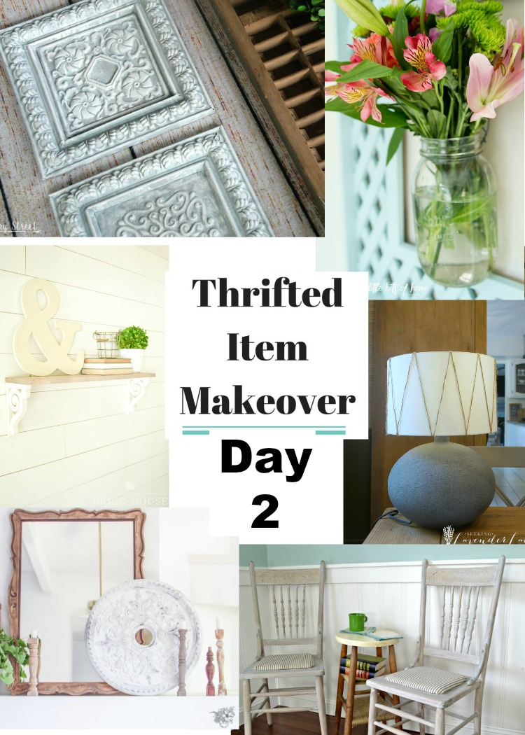 Day 2 of the Thrifted Item Makeover Blog Hop