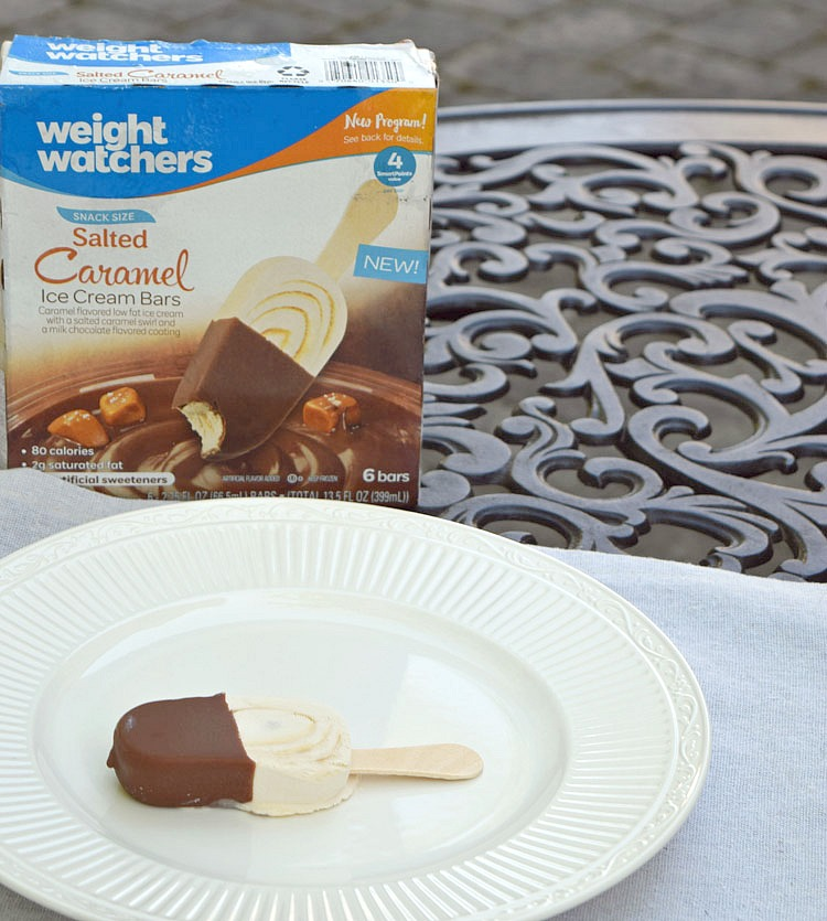Weight Watchers Salted Caramel Ice Cream Bars