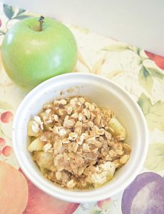 quick apple crisp recipe