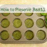 Preserving Herbs & Basil Garlic Bread — Taste Creations Blog Hop
