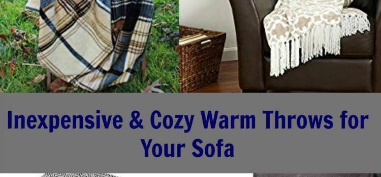 Inexpensive & Cozy Throws for Your Sofa