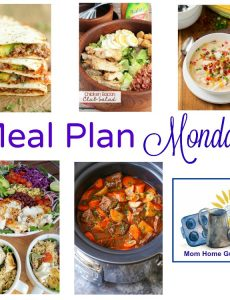 Meal plan Monday: Corn chowder, chicken club salad, beef stew, fish taco bowl