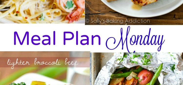 Meal Plan Monday — Broccoli Beef & Shrimp Scampi