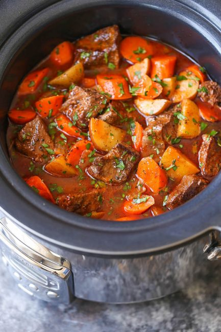 slow cooker beef stew recipe