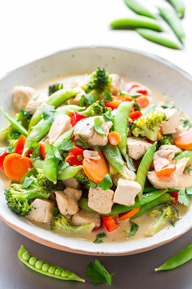 Thai chicken stir fry recipe