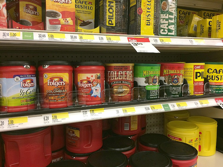 Folgers coffee at Target
