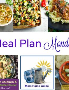 Meal Plan Monday — Steak Stroganoff & Chicken Noodle Soup