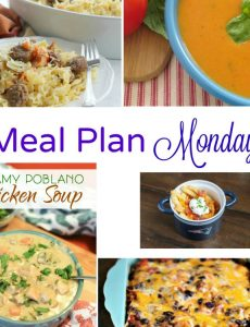 Meal Plan Monday -- 5 easy recipes for weeknight dinners!