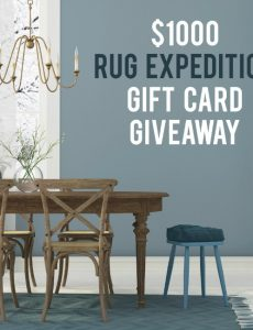 $1,000 Rug Expedition Rug Giveaway