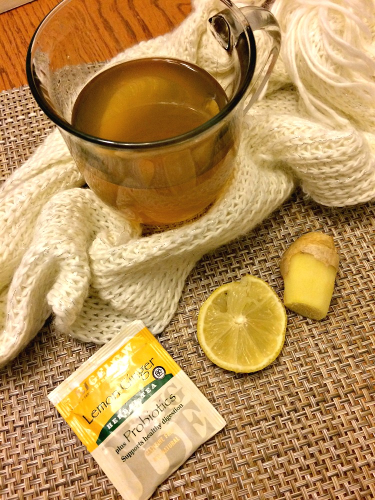soothing and warm lemon ginger tea reicipe