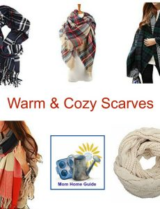 Warm and cozy scarves for fall and winter