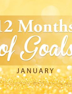12 Months of Goals — January Goal