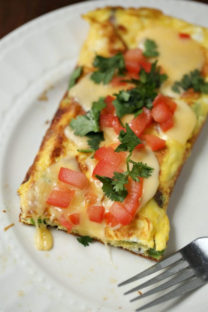 Veggie Omelet by The It Mom