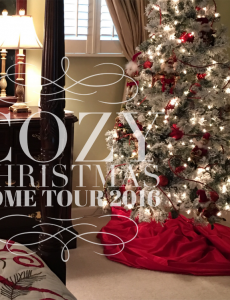 Cozy Christmas Home Tour 2016
