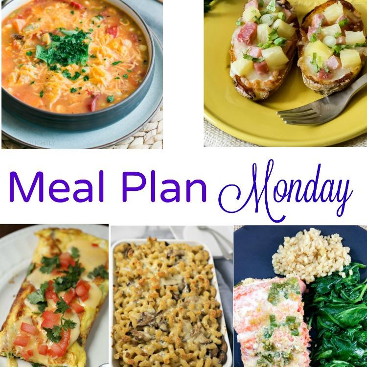 December 5 meal plan monday