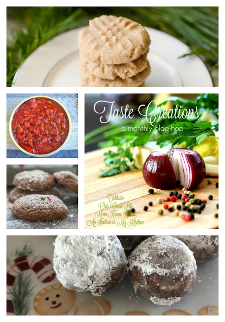 December Taste Creations blog hop