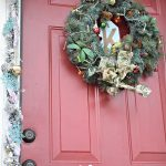 Festive Christmas Front Door Tutorial