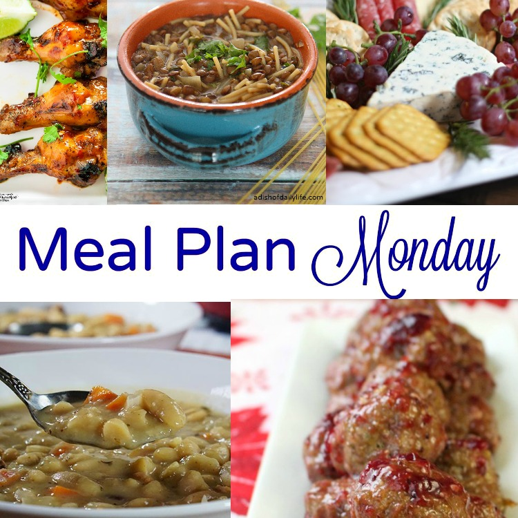 Meal Plan Monday -- 5 weeknight dinner recipes