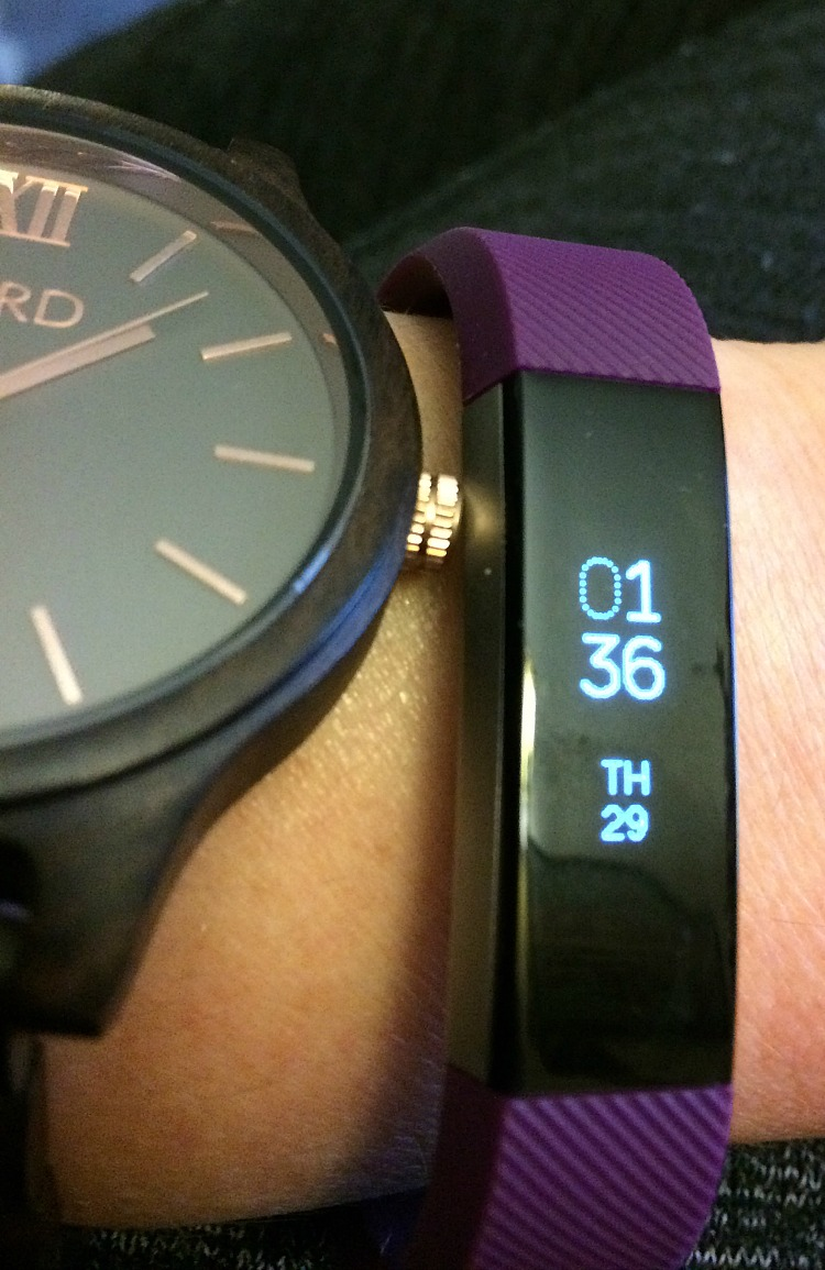 My new Fitbit Alta fitness tracker