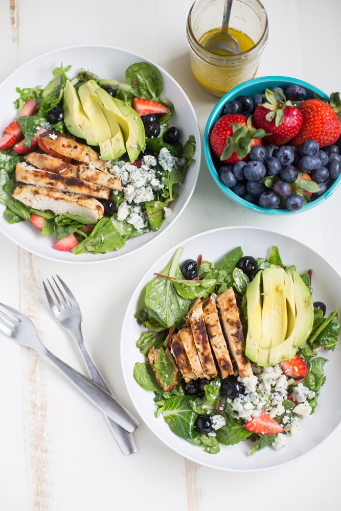 recipe for gorgonzola chicken salad