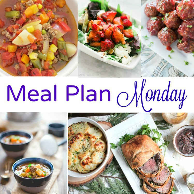 January 2 meal plan monday