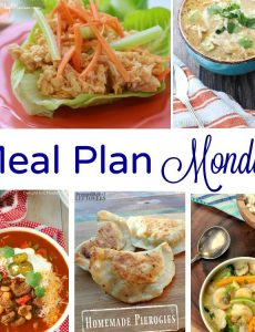 Meal Plan Monday (January 23)