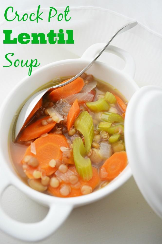 simple lentil soup recipe