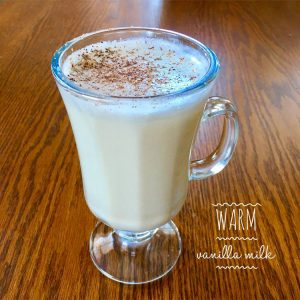 warm vanilla milk recipe