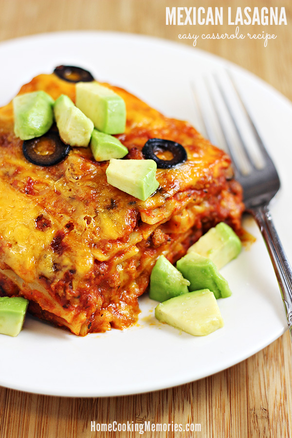 easy Mexican lasagna recipe