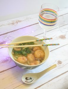 Recipe for shrimp udon soup