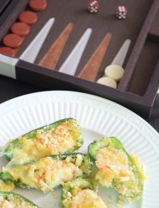 Baked jalapeno poppers recipe for a family game night