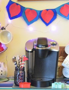 Valentine's Day Coffee Bar & Folgers Jingle Contest