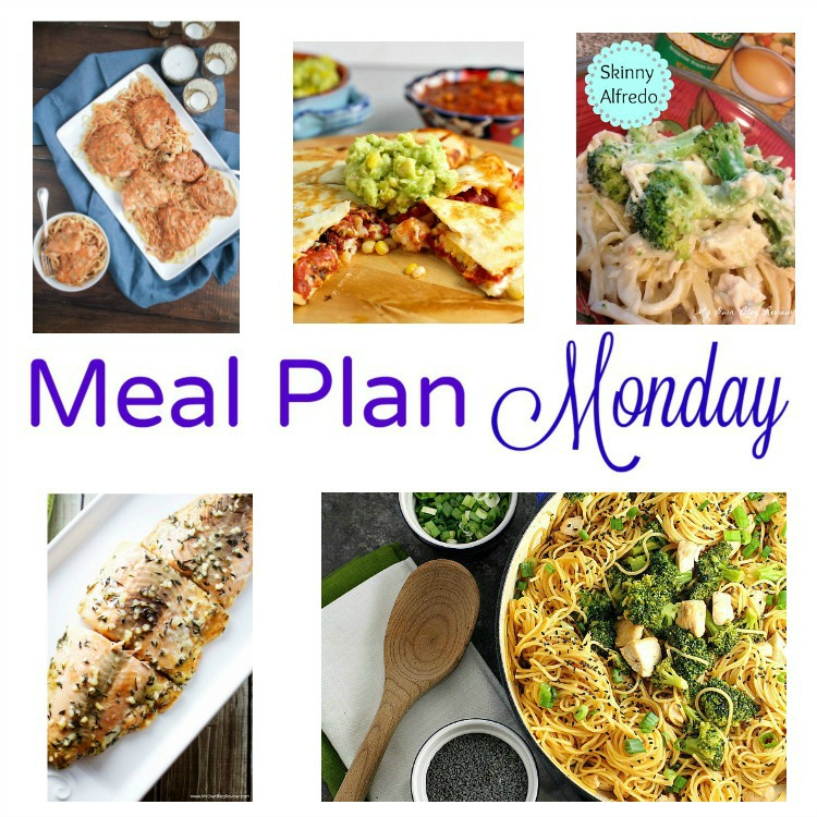 Meal Plan Monday -- five great weeknight recipes