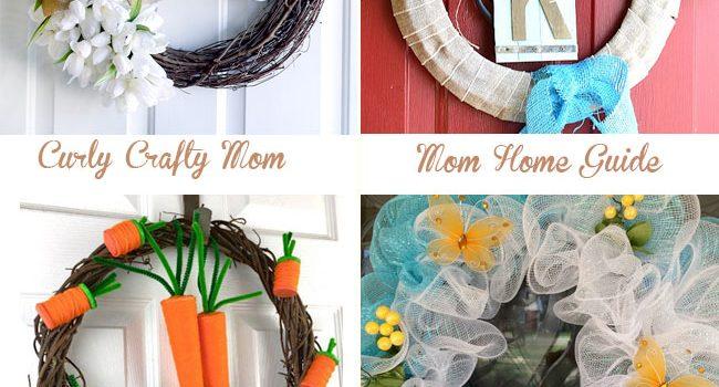 Spring Forsythia Wreath (12 Months of Wreaths)
