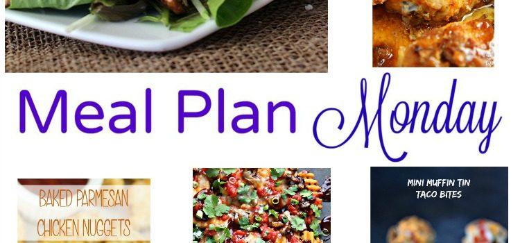 Meal Plan Monday — Chicken Apple Feta Salad & Sheet Pan Nachos