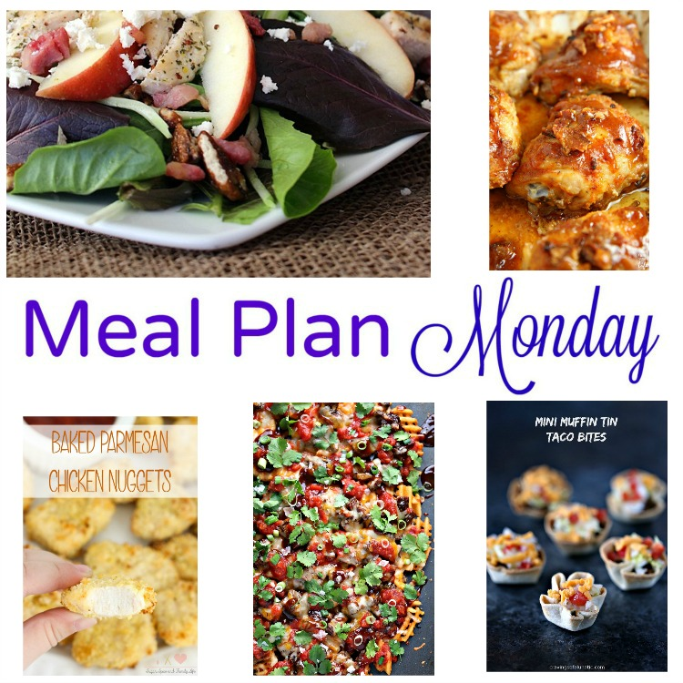 Meal Plan Monday -- five recipes for great weeknight meals