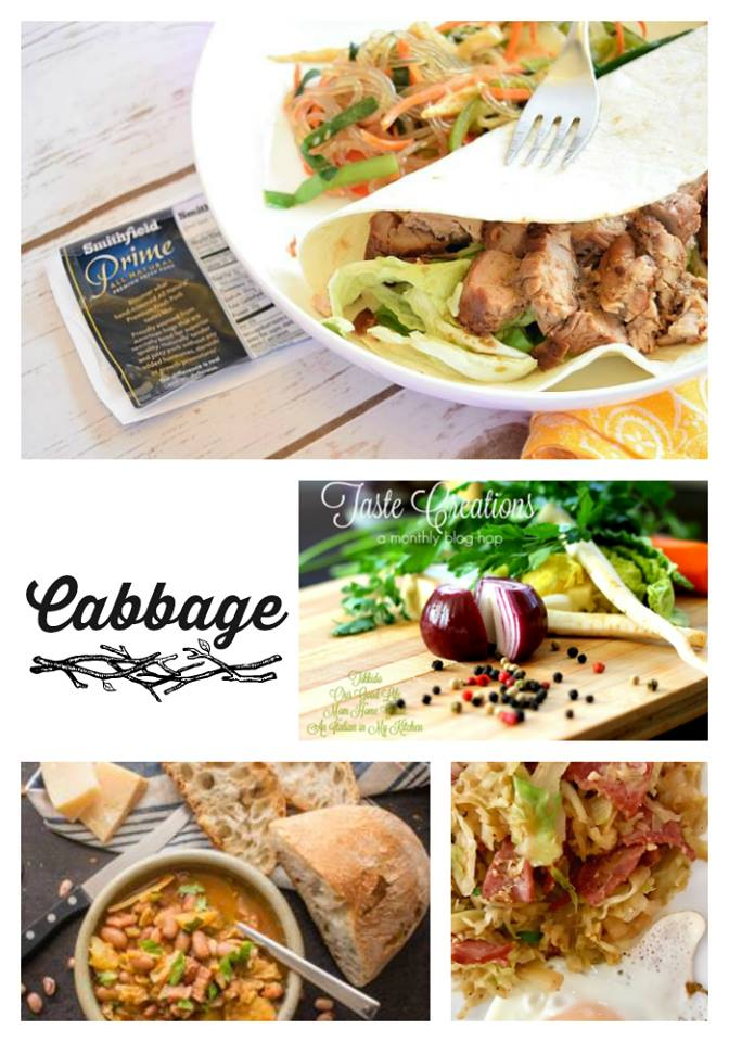 MarchTaste Creations -- cabbage recipes