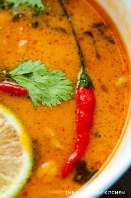 Thai Cococnut Peanut Soup recipe