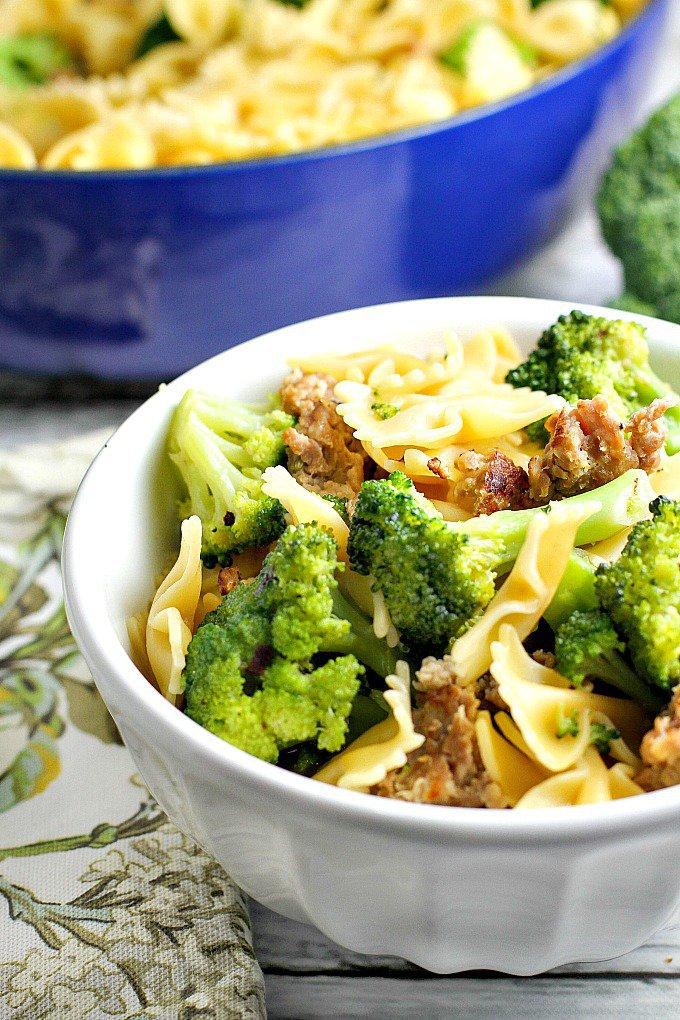 sausage broccoli pasta recipe