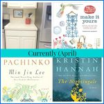 Currently — April (Kitchen Update and Reading List)