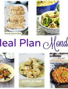 meal plan monday -- five great recipes for weeknight meals