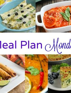 Meal Plan Monday — Thai Coconut Peanut Soup & Spinach Quiche