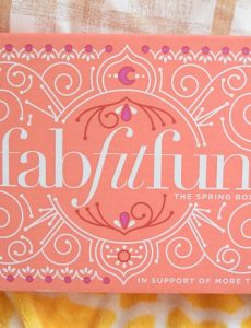 Spring FabFitFun subscription box