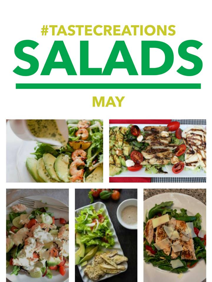 Taste Creations salad recipes