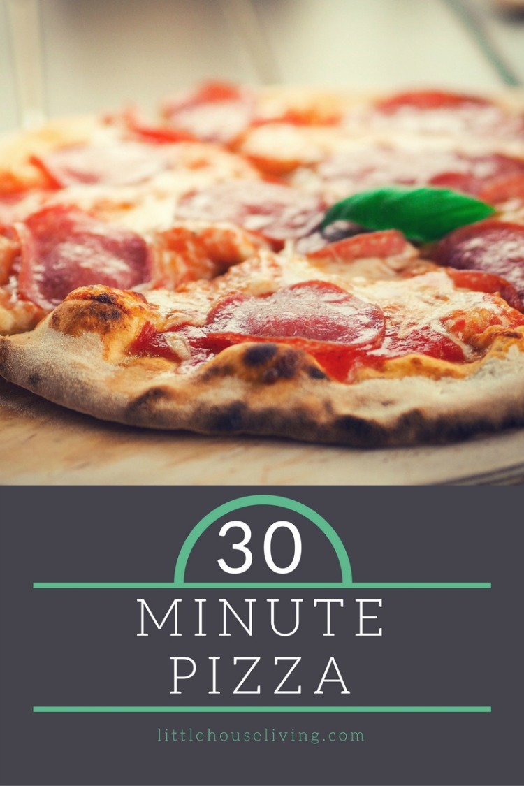 30 minute pizza recipe